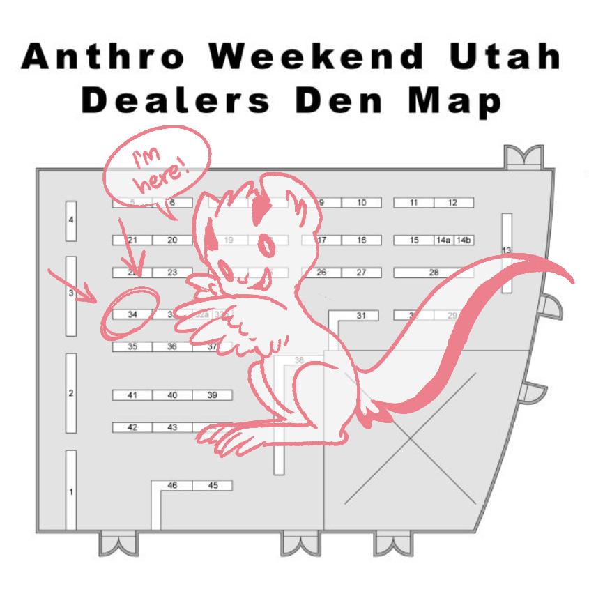 Map of Anthro Weekend Utah